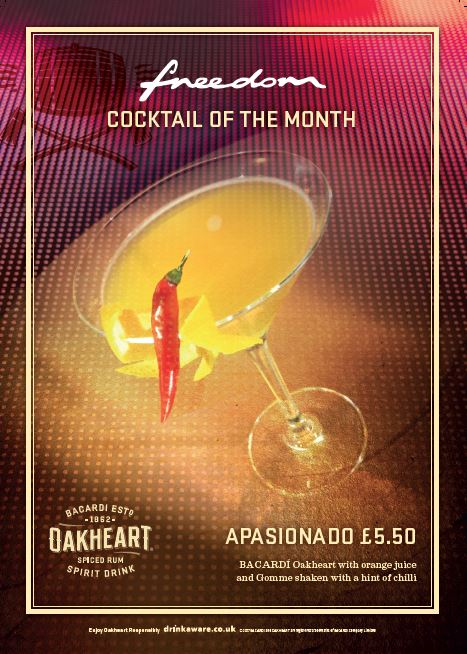 Cocktail of the Month Freedom
